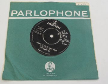 "Beatles (The)  I WANT TO HOLD YOUR HAND 1963 UK 7"" 1ST PRESS (NO NCB)  NEAR MINT/EX+ AUDIO"